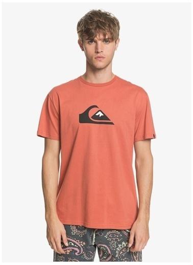 Quiksilver Quiksilver EQYZT05750-MNL0 Erkek T-Shirt Kırmızı